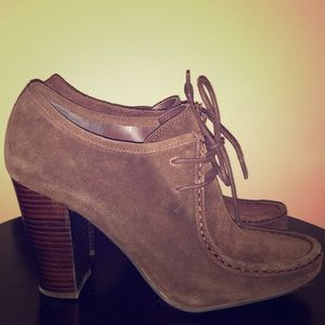Ralph Lauren Suede Samara Shoes